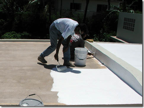 Roof Coating By John S Roofing Amp Home Improvements