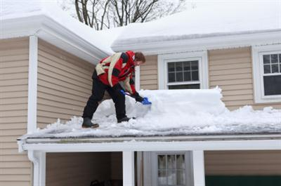Roof shoveling in Seaford VA